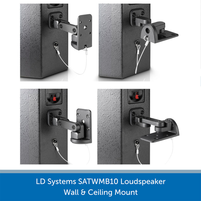 LD Systems SATWMB10 Mounting Method