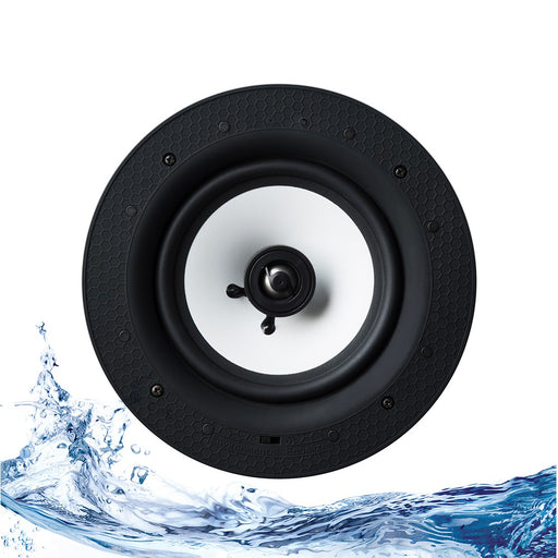 Lithe Audio 6.5 inch 2-Way Passive IP44 Waterproof Ceiling Speakers (Pair)