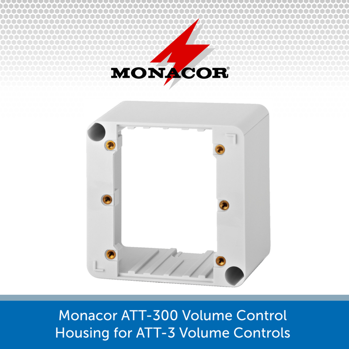Monacor ATT-300 Volume Control Housing for ATT-3 Volume Controls