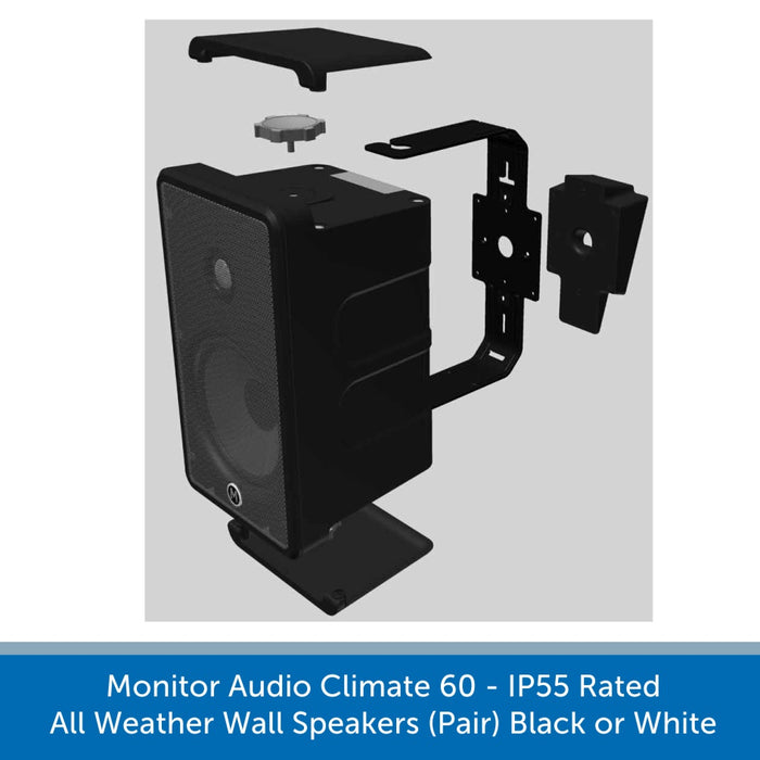 Monitor Audio Climate 60 wall speakers