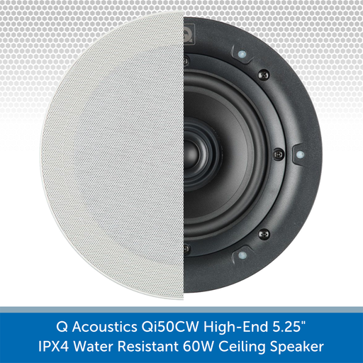 Q Acoustics Qi50CW 60W Ceiling Speaker (PAIR) Cone