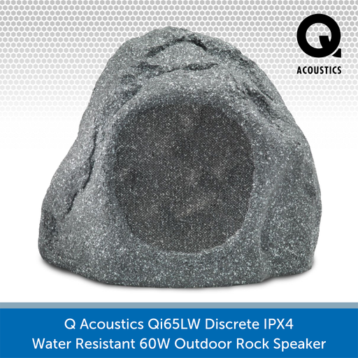 Q Acoustics Qi65LW Discrete IPX4 Water Resistant 60W Outdoor Rock Speaker