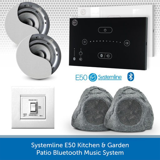 Systemline E50 Kitchen & Garden Patio Bluetooth Music System
