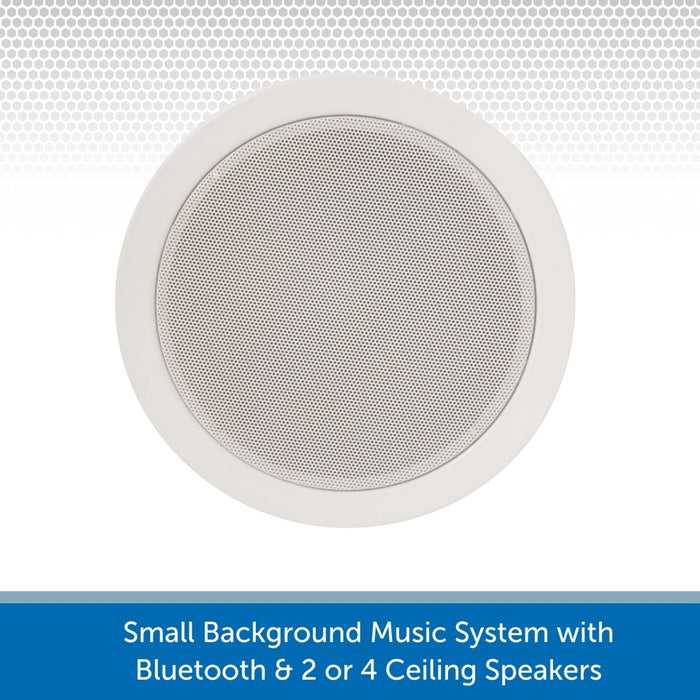 Professional 6W 100V In-Ceiling Speakers perfect for small cafes