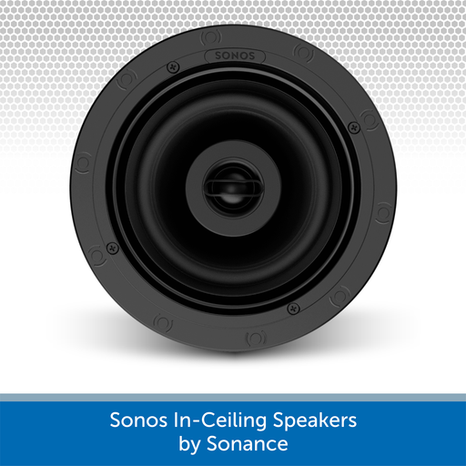Sonos In-Ceiling Speakers by Sonance (Pair)