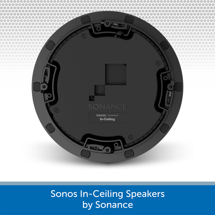 Sonos In-Ceiling Speakers by Sonance (Pair) Rear
