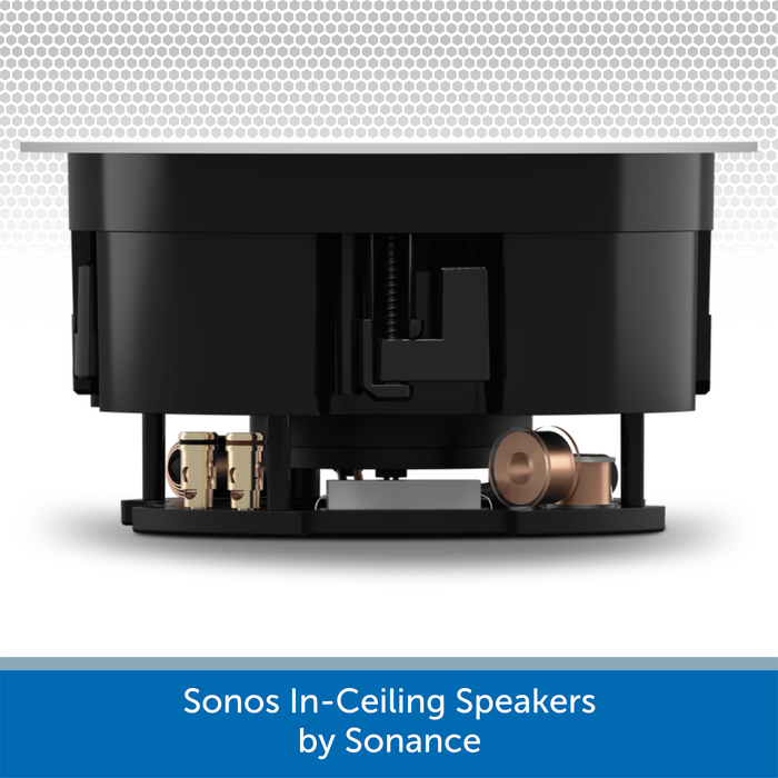 Sonos In-Ceiling Speakers by Sonance (Pair) Side
