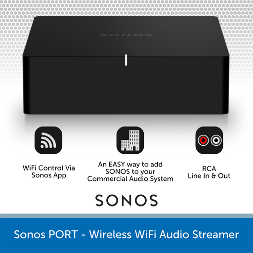 Sonos Port Wireless Audio Streamer