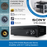 "Sony STR-DH190 Bluetooth Stereo Amplifier with 6.5"" Ceiling Speakers"