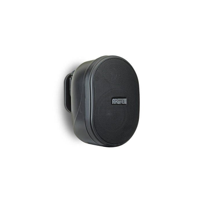 "Apart OVO3-BL 3"" Compact Wall Speaker in Black"