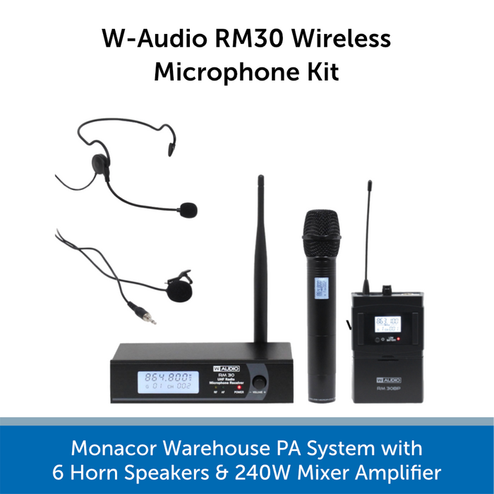 wireless speakers for warehouse