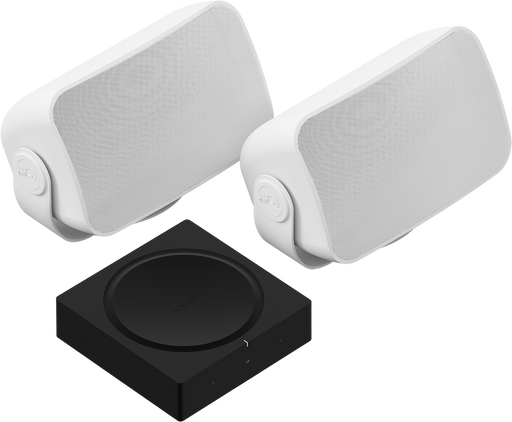 Sonos Weatherproof Outdoor Speaker Set and Amp