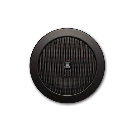 "Apart Audio CM4T & CM4T-BL 4"" Discreet Ceiling Speaker 6W, 100V/16 Ohm - White or Black"