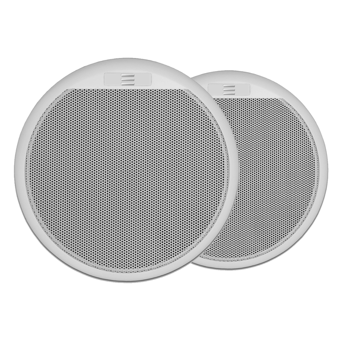 "Apart CMAR6W 6.5"" Two-Way Waterproof Ceiling Speakers, 60W (Pair)"