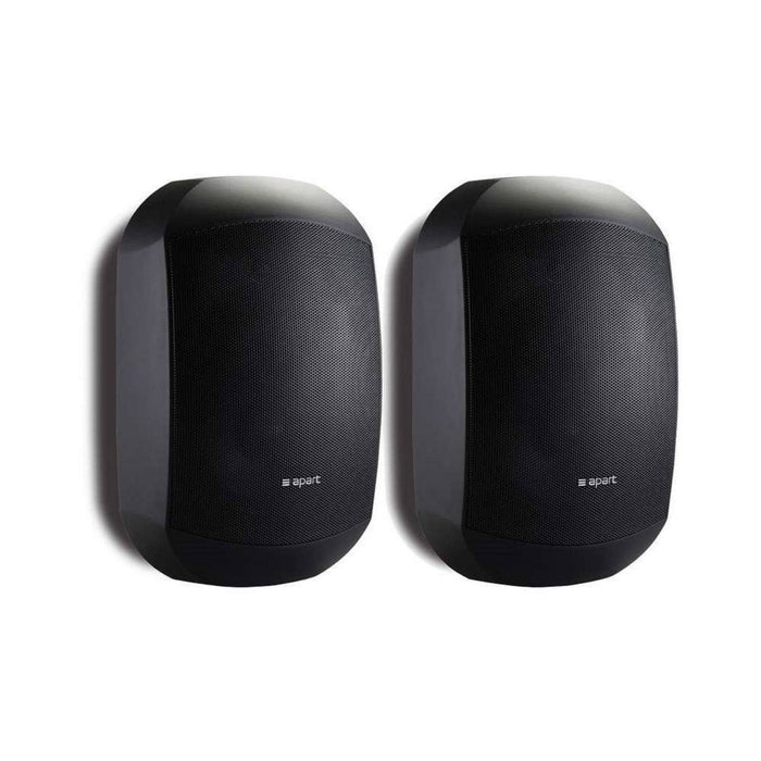 "Pair of Apart MASK4C-BL 4.25"" Two-Way Loudspeakers in Black"