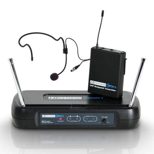 LD Systems ECO2BPH1 Wireless Headset Microphone System (863.1MHz)