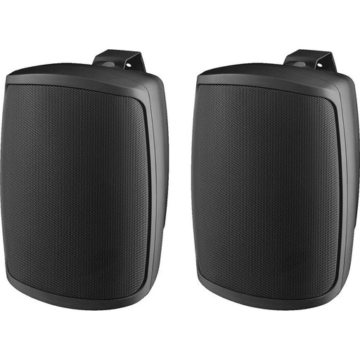 Monacor WALL/SW & WALL/WS Series Compact 100v Background Music Wall Speakers (Pair) - Black or White