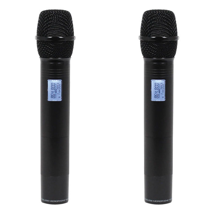 W-Audio RM 30T Twin Handheld UHF Wireless Mic System (863.1mHz/864.8mHz)