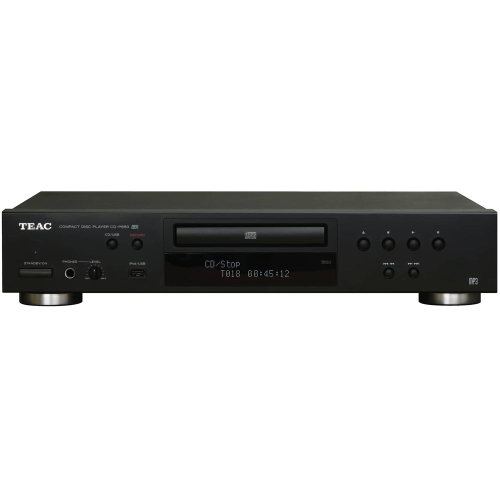TEAC CD-P650 CD/Media Player with USB Recording - Perfect for Background Music Systems