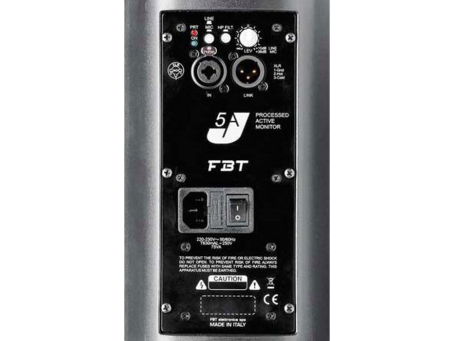 "FBT J5A 5"" 2-Way Active Speaker, Single (Black or White)"