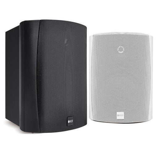 KEF Ventura 6 Outdoor Wall Speakers, IP65 Weatherproof Rated, White or Black (Pair)