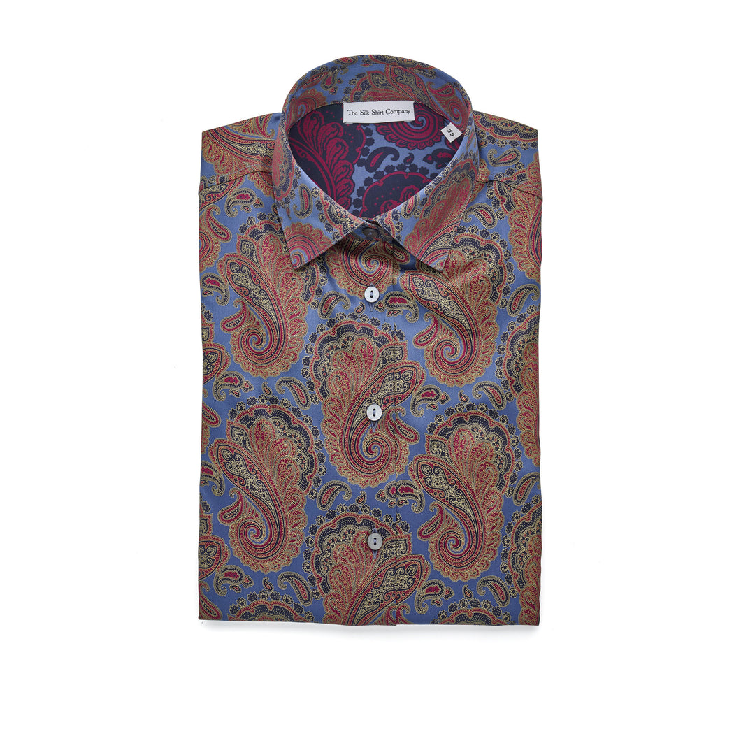 Luxury Silk Shirt
