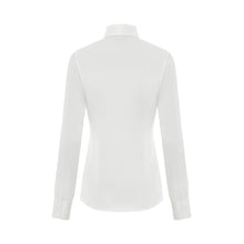 White Luxury Silk Satin Shirt