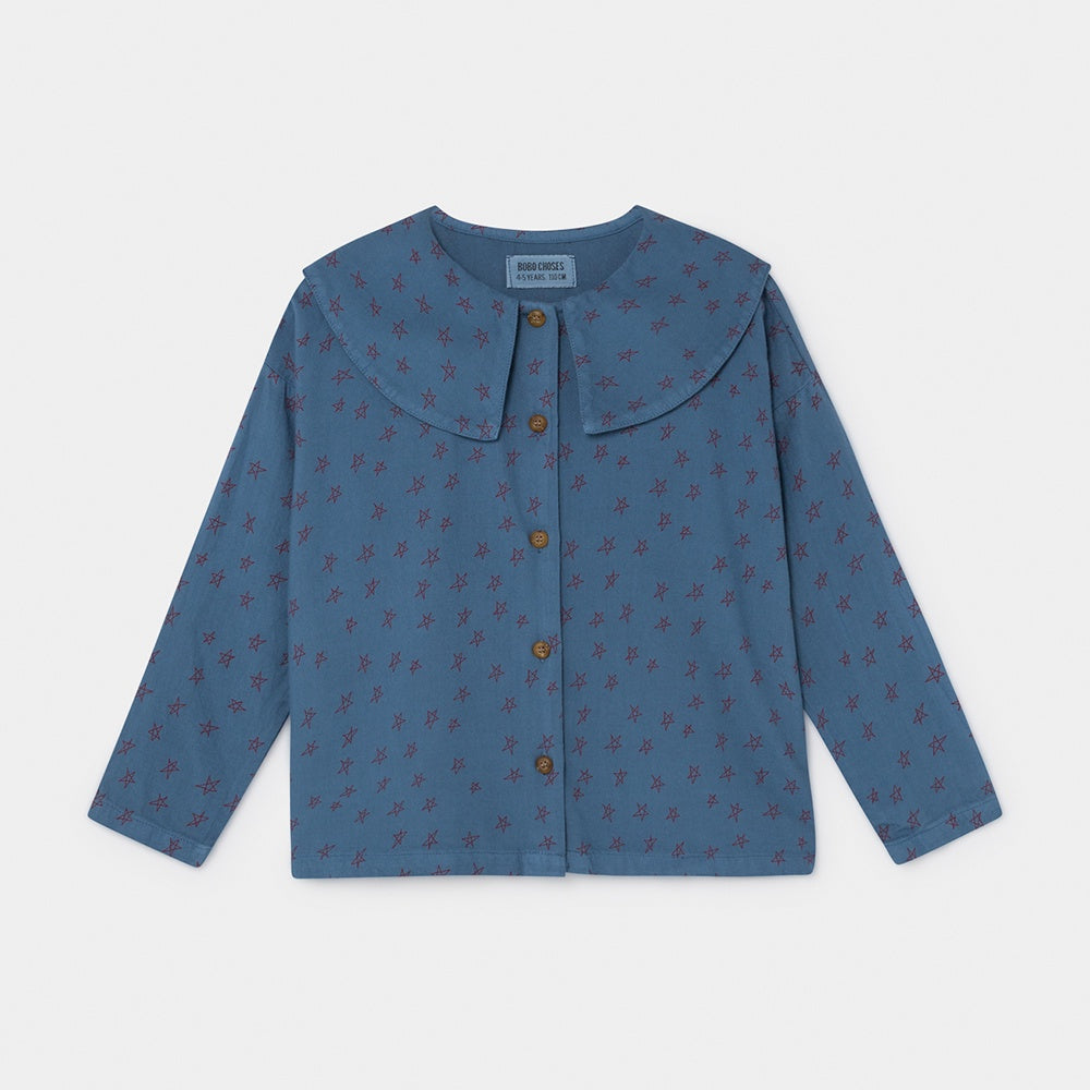 All Over Stars Blouse, Bobo Choses- Trapeze Kids