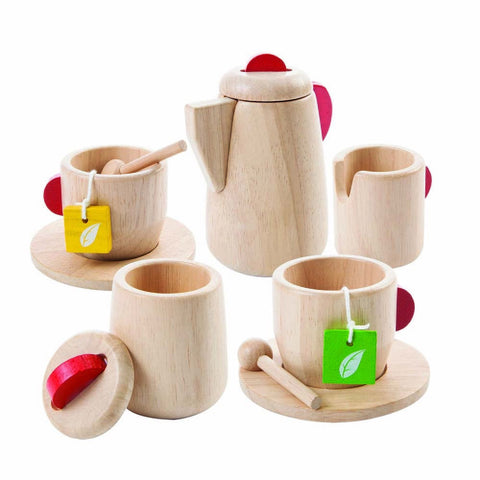 Tea Set, Plan Toys- Trapeze Kids
