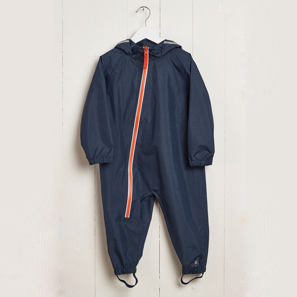 Puddle Suit Navy, Grass and Air- Trapeze Kids