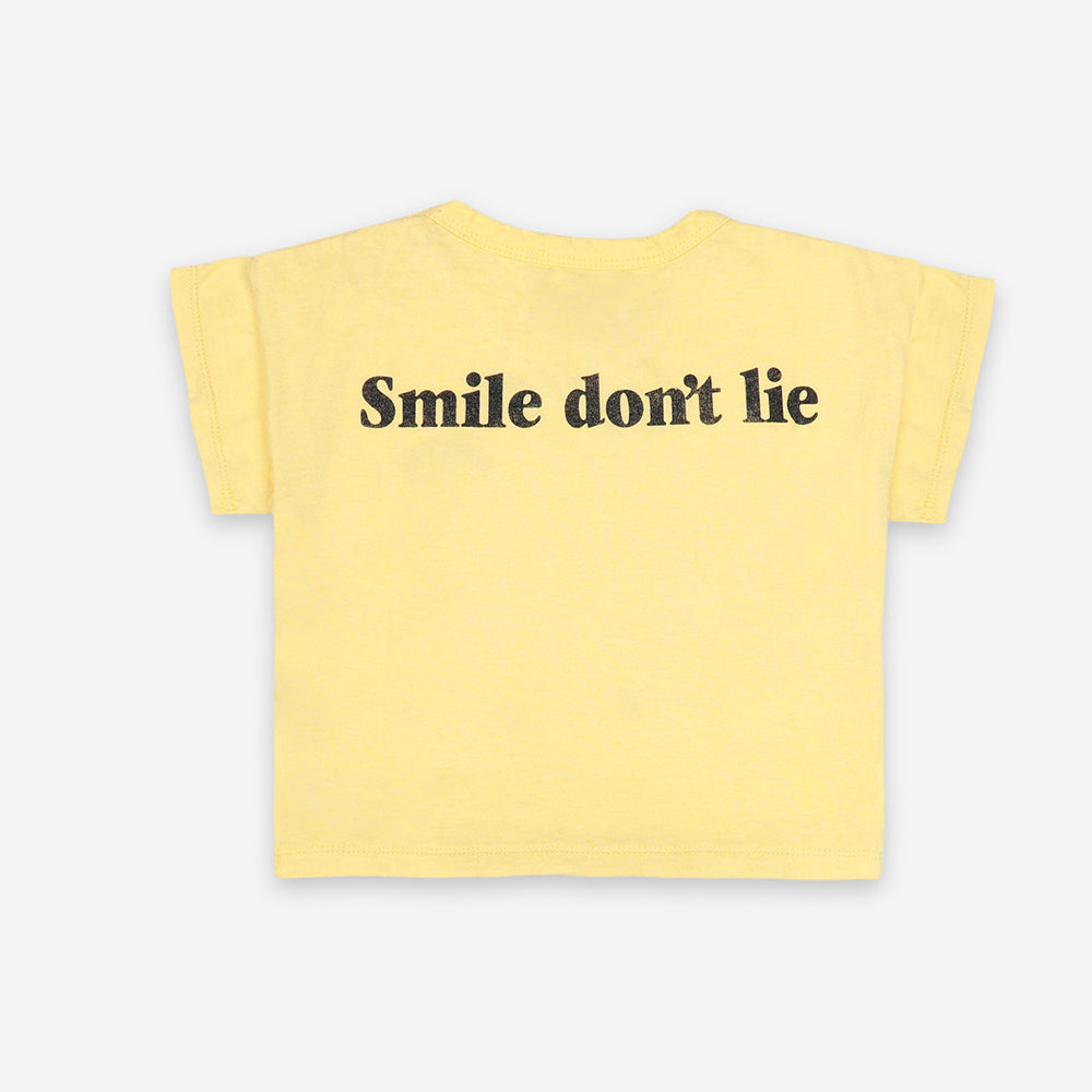 Big Smile Baby T-Shirt from Bobo Choses available online at Trapeze Kids