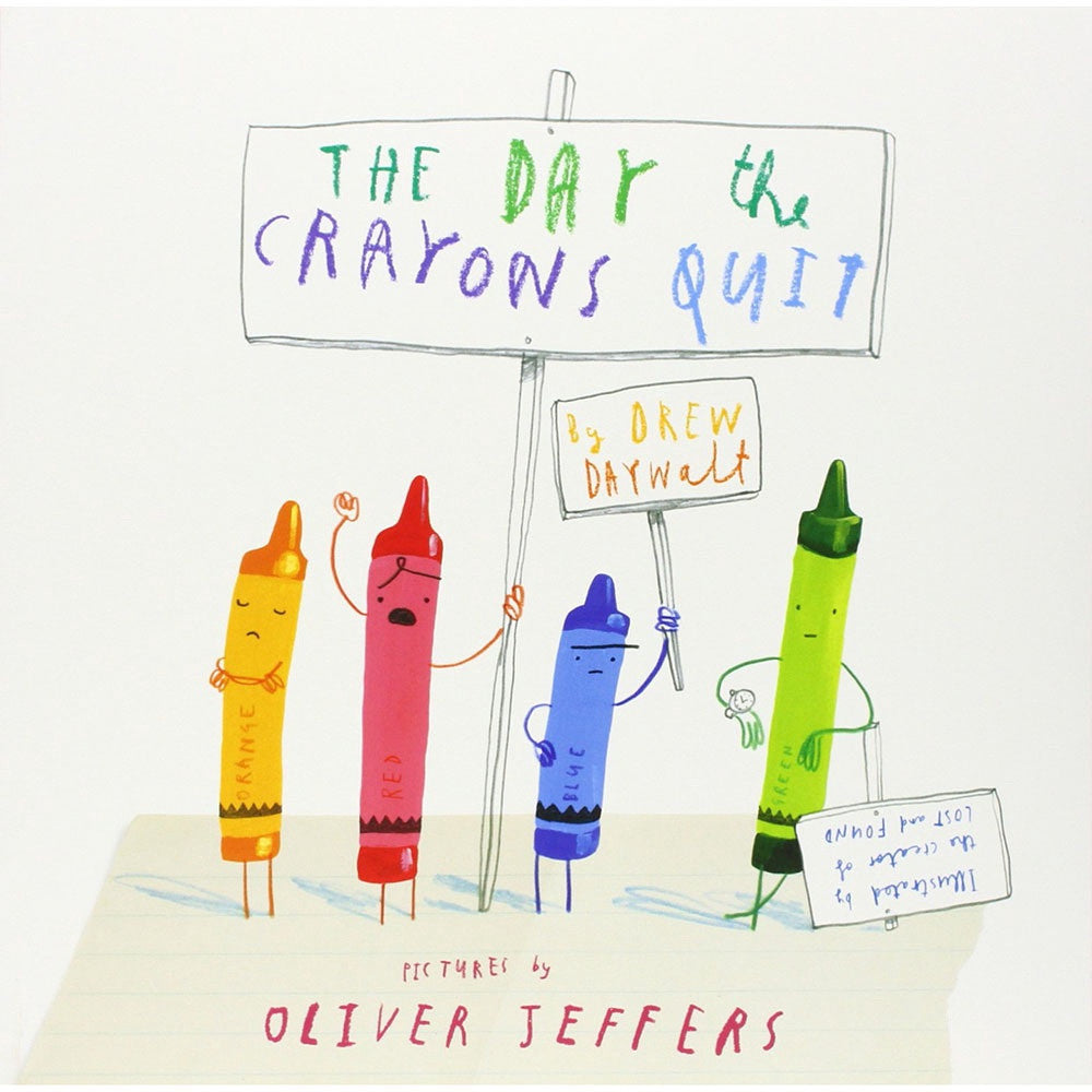 Day The Crayons Quit, Bookspeed- Trapeze Kids
