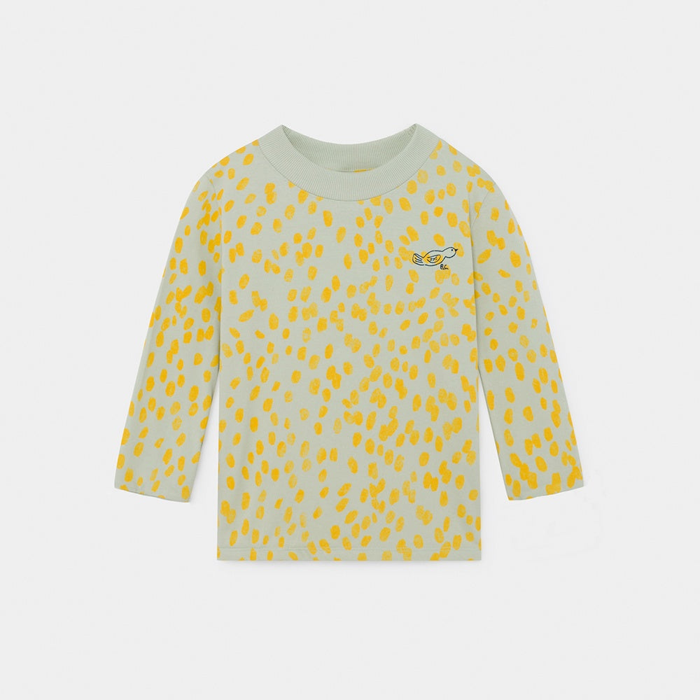 Animal Print LS T Shirt