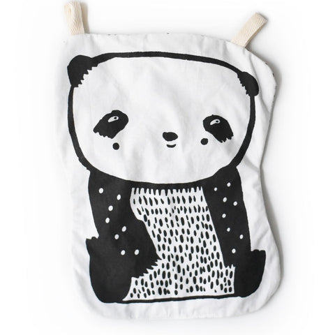Panda Crinkle Toy, Wee Gallery- Trapeze Kids