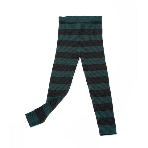 Stripe Leggings Olive