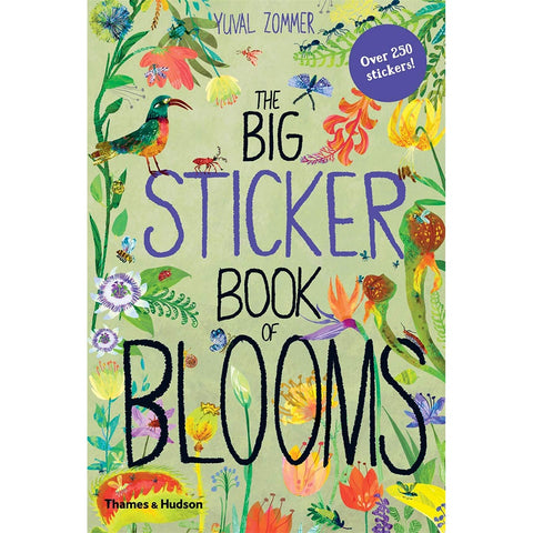 Big Sticker Book of Blooms by Yuval Zommer