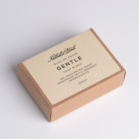 Soap Block Gentle, Nathalie Bond Organics- Trapeze Kids