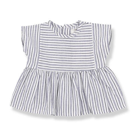 Vernazza Fine Stripe Blouse