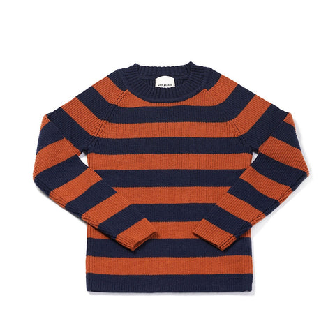 Stripe Jumper Caramel