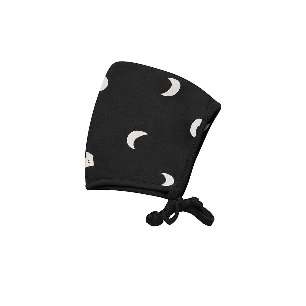 Black Midnight Baby Bonnet by Organic Zoo