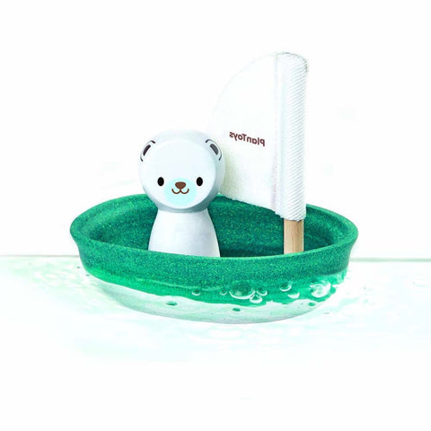 Polar Bear Boat, Plan Toys- Trapeze Kids