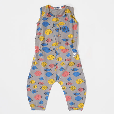 Shark Fish Jumpsuit, Indikidual- Trapeze Kids