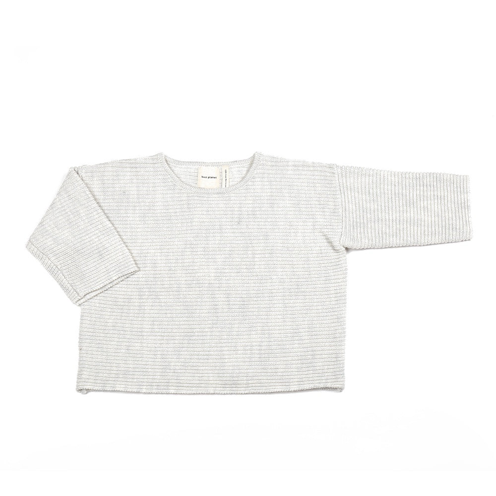 Chubby Jumper Pale Grey