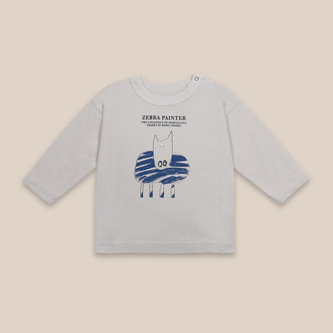 Zebra Painter LS T-Shirt