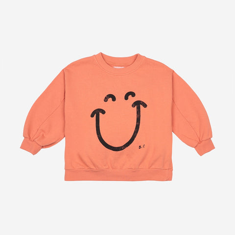 Big Smile Kids Sweatshirt by Bobo Choses
