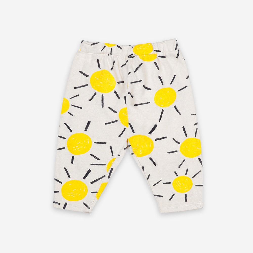 Sun All Over Baby Jogging Pants by Bobo Choses