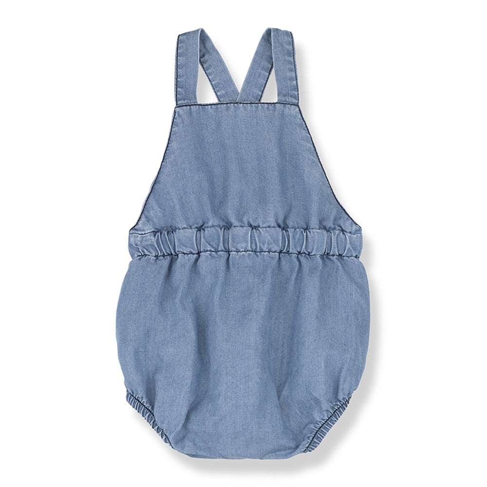 Mao Denim Romper