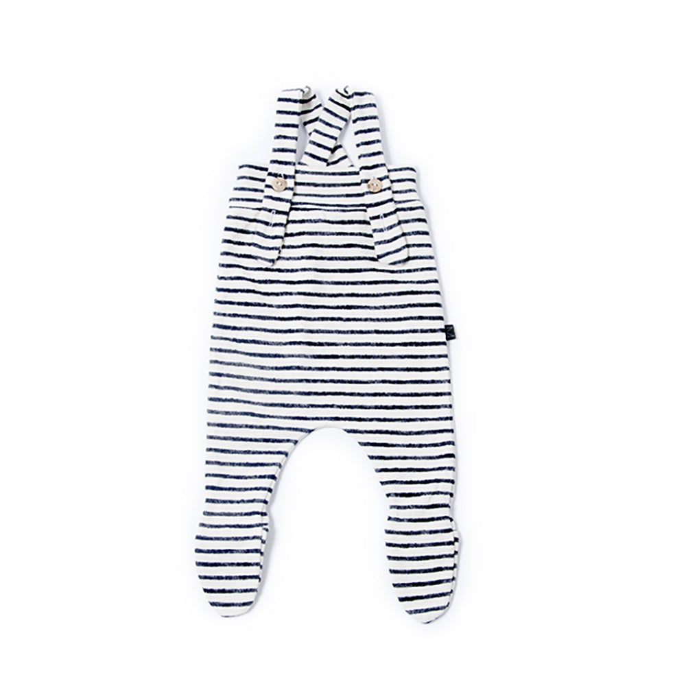 Denim Stripe Baby Pants, Monkind- Trapeze Kids