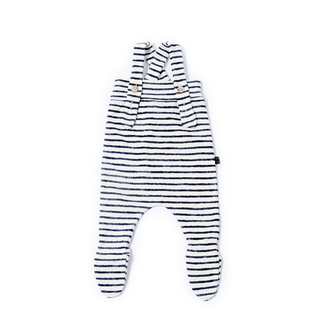 Denim Stripe Baby Pants