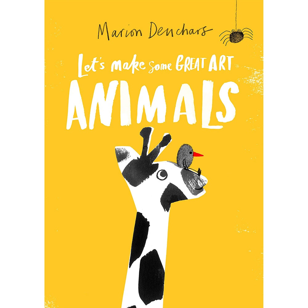 Lets Make Great Art Animals kids activity book by Marion Deuchars